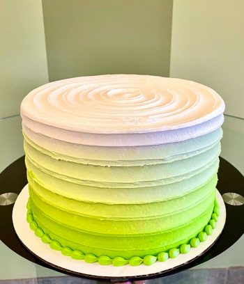 Anabelle Ombré Layer Cake - Green