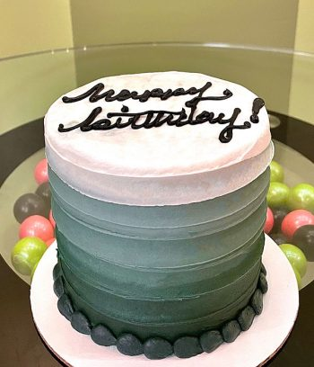Anabelle Ombre Layer Cake - Green
