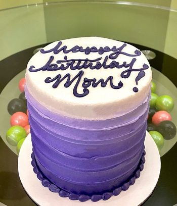 Anabelle Ombre Layer Cake - Purple