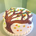 Autumn Tree Layer Cake