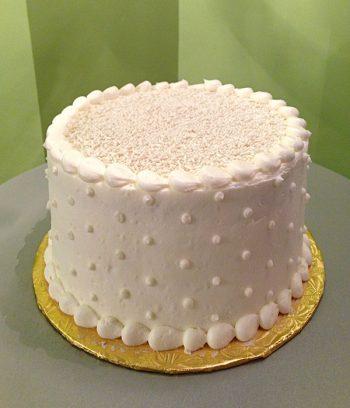 Black & White Layer Cake