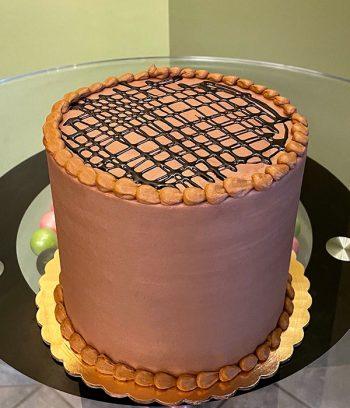 Ghirardelli Chocolate Layer Cake