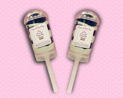 Mint Chip Cupcake Push Pop