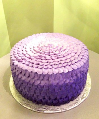 Petra Ombre Layer Cake - Purple