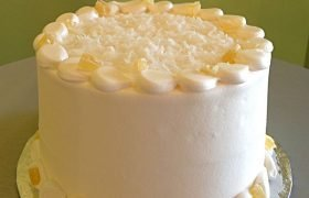 Pina Colada Layer Cake