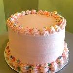 Strawberry Lemonade Layer Cake