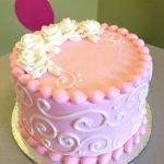 Sweet Rose Layer Cake