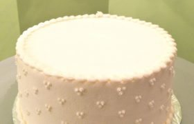 White Wedding Layer Cake