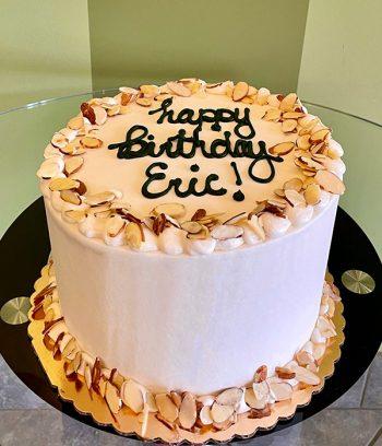 Almond Layer Cake