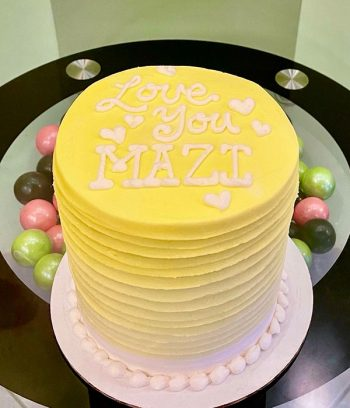 Anabelle Ombre Layer Cake - Yellow