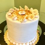 Bananas Foster Layer Cake