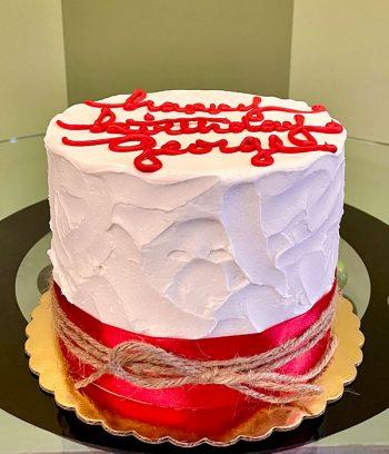 Cheyenne Layer Cake - Red