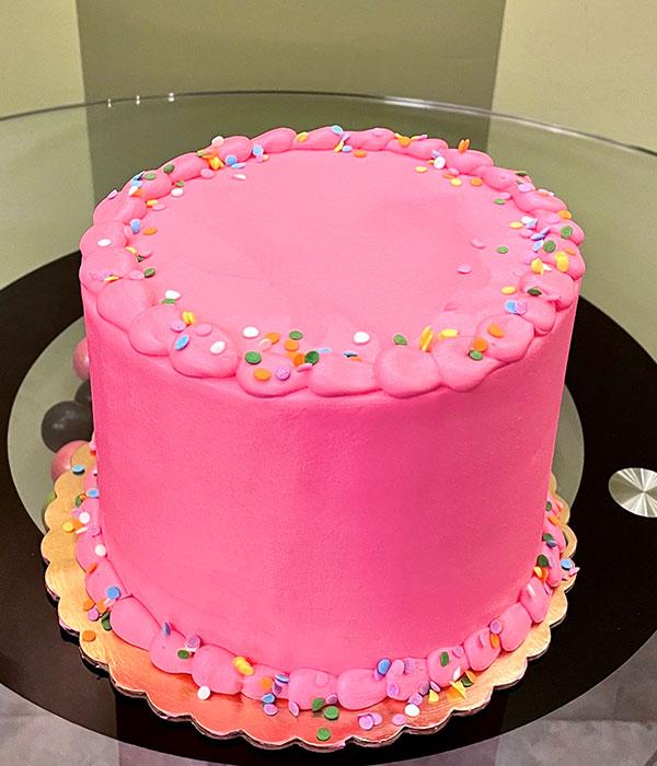 Confetti Layer Cake - Pink