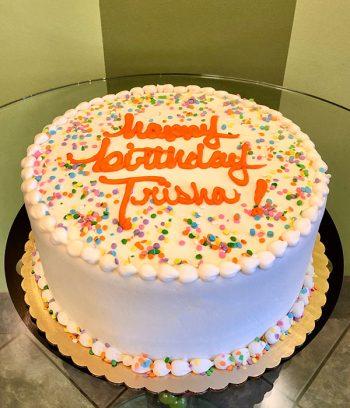 Confetti Layer Cake - 10 Inch