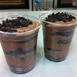 Ghirardelli Chocolate Cupcake Mousse Parfait