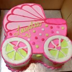 Baby Carriage Layer Cake