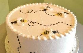Buzzy Bees Layer Cake