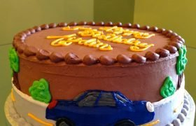 Car Layer Cake