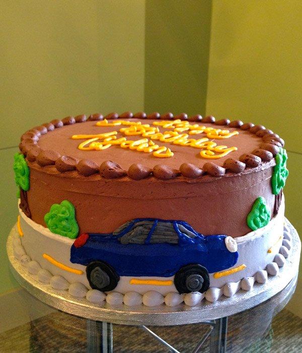 Car Layer Cake