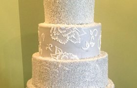 Edie Wedding Cake - Grey