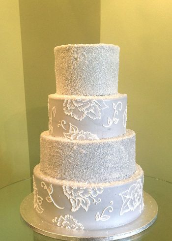 Edie Wedding Cake - Grey