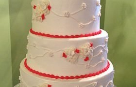 Florissa Vine Wedding Cake