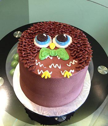 Owl Layer Cake