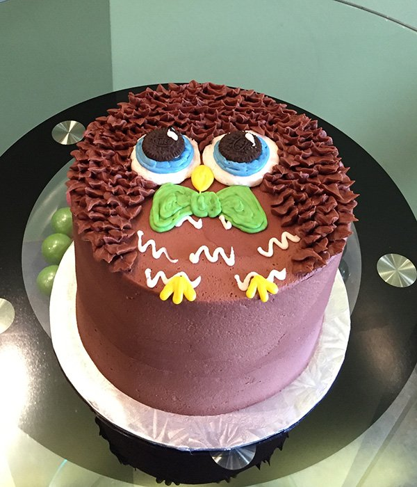 Owl Layer Cake