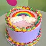 Rainbow Layer Cake