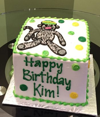 Sock Monkey Layer Cake - Green