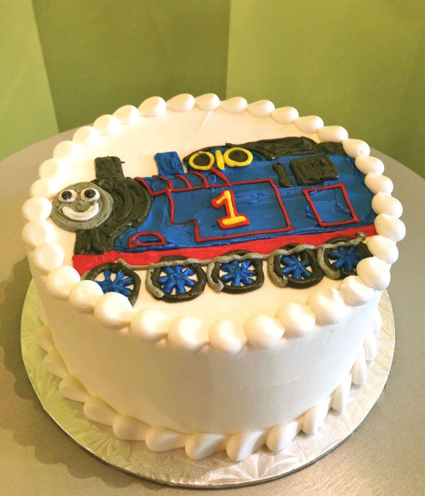 Train Layer Cake