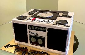 Boombox Layer Cake