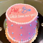 Gender Reveal Layer Cake - Top