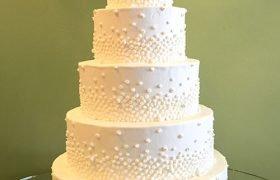 Giselle Wedding Cake - 5 Tiered