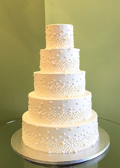 Giselle Wedding Cake - 5 Tiered