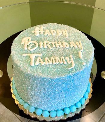 Glitter Layer Cake