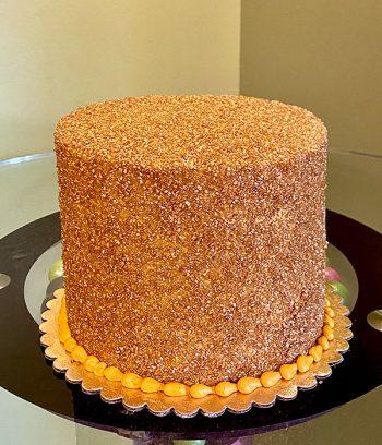 Glitter Layer Cake - Gold
