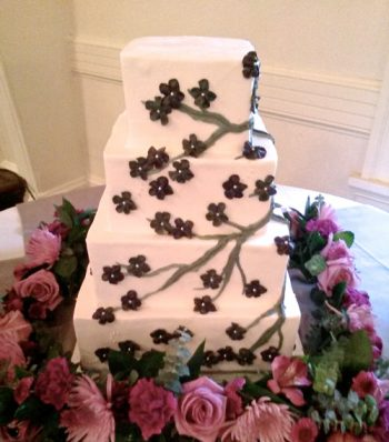 Womens Club of Wisconsin Wedding Cake - Wedding Cake Venue Gallery