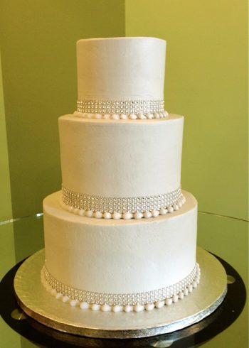 Crystal Wedding Cake - Grey