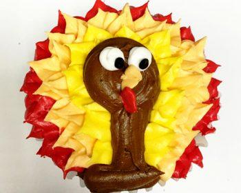 Turkey Cupcake