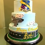 Air Force Tiered Cake