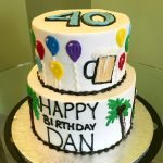 Beer In Paradise Tiered Cake