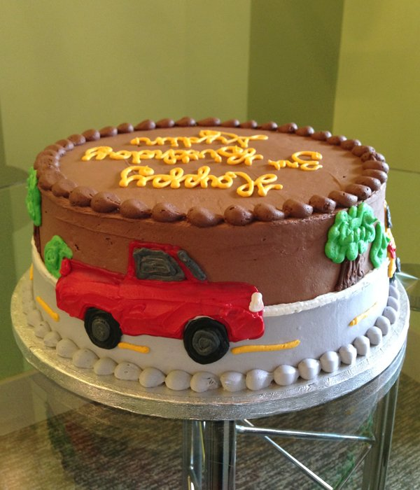 Car Layer Cake - Red Car