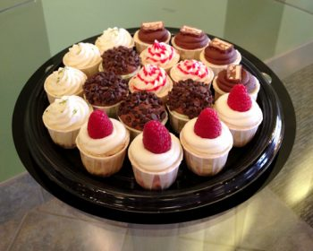Cheesecake Cupcake Party Tray