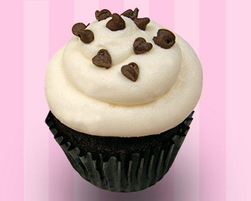 Chocolate Chocolate Chip Cupcake