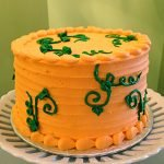 Fall Vines Layer Cake