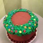 Christmas Wreath Layer Cake