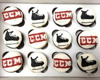 Company Logo Cupcakes - CCM Hockey