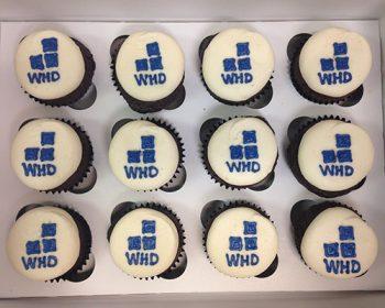 Company Logo Cupcakes - WHD