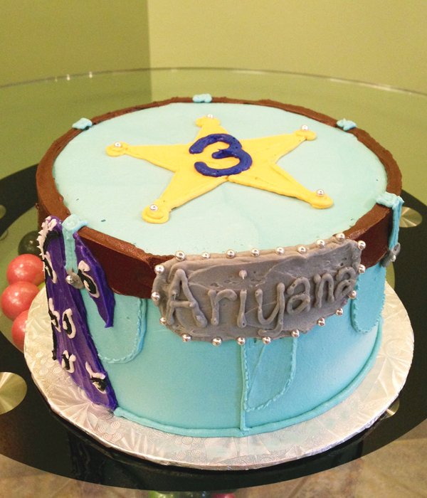 Cowboy Layer Cake